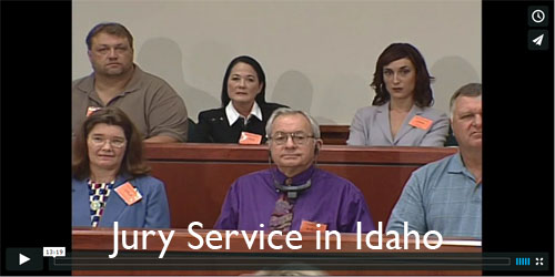 Watch our Idaho Jury Service Video